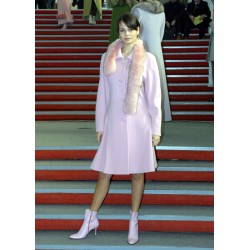 Coat 733 youthful, in pink,...