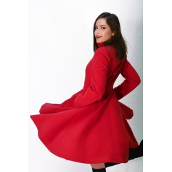 A girly coat 726, in red,...