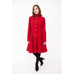Coat 755 red, teen looking,...