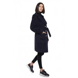 Coat 760, navy blue color,...